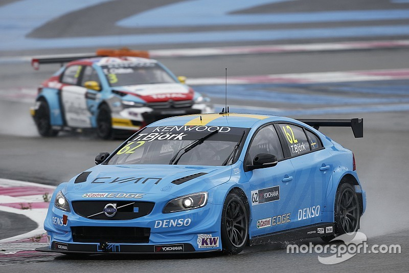 Paul Ricard WTCC: Bjork puts Volvo on top in final practice