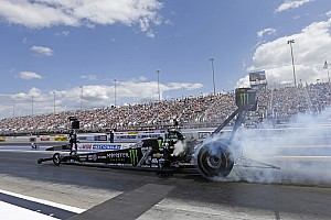 NHRA Race report Force, Worsham, Skillman and Hines race to winner's circle at NHRA Nationals
