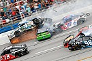 NASCAR Sprint Cup Keselowski wins carnage-filled slugfest at Talladega