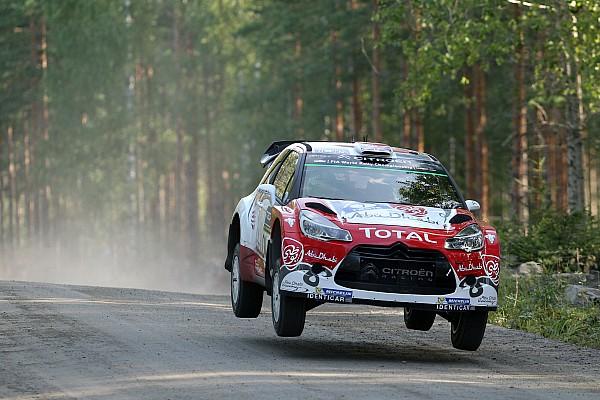 WRC Finland WRC: Meeke extends lead as battle for third tightens