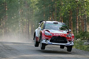WRC Leg report Finland WRC: Meeke extends lead as battle for third tightens