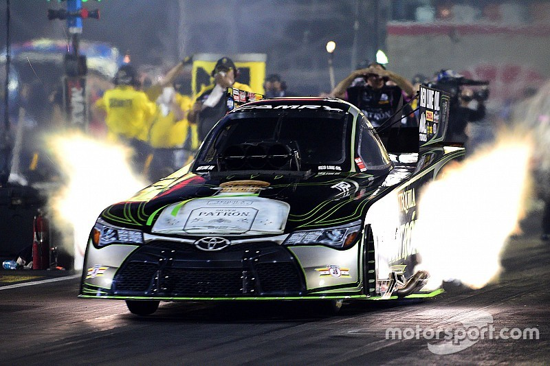 DeJoria to miss NHRA finale due to injury