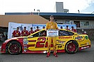 Logano edges Johnson for Michigan pole