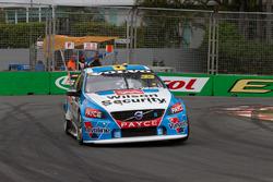Scott McLaughlin, David Wall, Garry Rogers Motorsport Volvo
