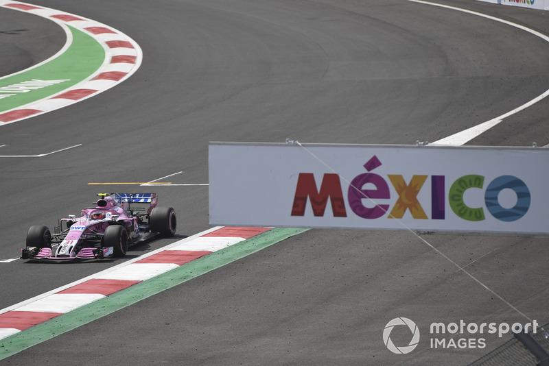 Checo Pérez lamenta no haber dado una alegría a la afición mexicana