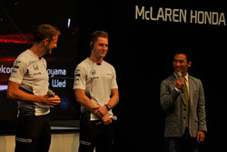 Jenson Button, Stoffel Vandoorne, Takuma Sato
