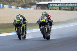 Pol Espargaro, Tech 3 Yamaha and Cal Crutchlow, Team LCR Honda