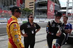 Ryan Hunter-Reay, Andretti Autosport Honda, Alexander Rossi, Herta - Andretti Autosport Honda, Michael Andretti