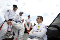 Maximilian Götz, Mercedes-AMG Team HWA, Mercedes-AMG C63 DTM; Gary Paffett, Mercedes-AMG Team ART, Mercedes-AMG C63 DTM; Robert Wickens, Mercedes-AMG Team HWA, Mercedes-AMG C63 DTM; Paul Di Resta, Mercedes-AMG Team HWA, Mercedes-AMG C63 DTM
