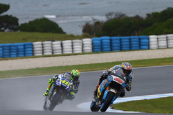 Jack Miller, Estrella Galicia 0,0 Marc VDS; Valentino Rossi, Yamaha Factory Racing