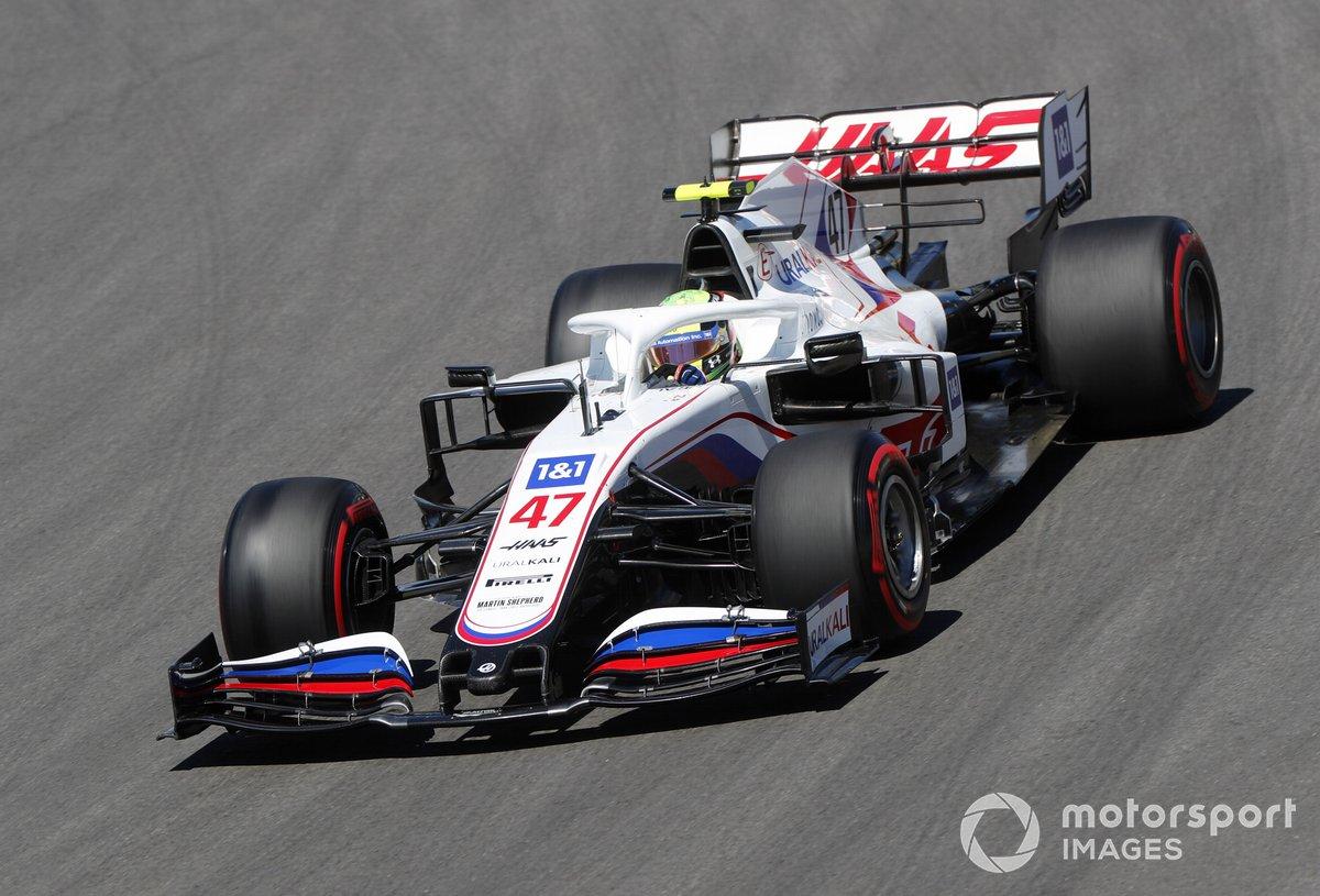 P19 Mick Schumacher, Haas VF-21