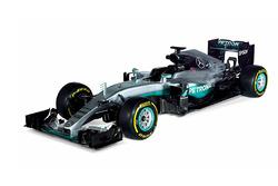 Mercedes AMG F1 scale model