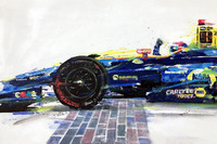 General Photos - 2016 Indy 500 finish - Alexander Rossi winner