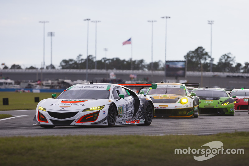 93 Michael Shank Racing Acura Nsx Andy Lally Katherine
