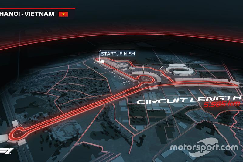 Ya es oficial el Gran Premio de Vietnam