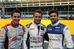 Filipe Albuquerque, Belgian Audi Club Team WRT, Marco Mapelli, Barwell Motorsport, Marco Bonanomi, Sainteloc Racing