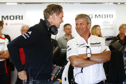 Oliver Blume, Chairman of the Executive Board of Porsche AG, Fritz Enzinger, Vice President LMP1, Porsche Team