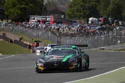 #86 HTP Motorsport Mercedes AMG GT3: Jules Szymkowiak, Bernd Schneider