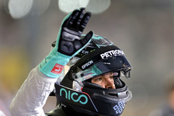 Second place Nico Rosberg, Mercedes AMG F1