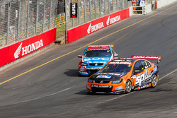 Andre Heimgartner, Lucas Dumbrell Motorsport Holden and Jason Bright, Brad Jones Racing Holden