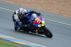 #21 Kawasaki: Olivier Louault, Didier Esnault, Emilien Jaillet
