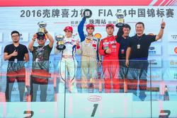 Chinese F4 Round 13 podium