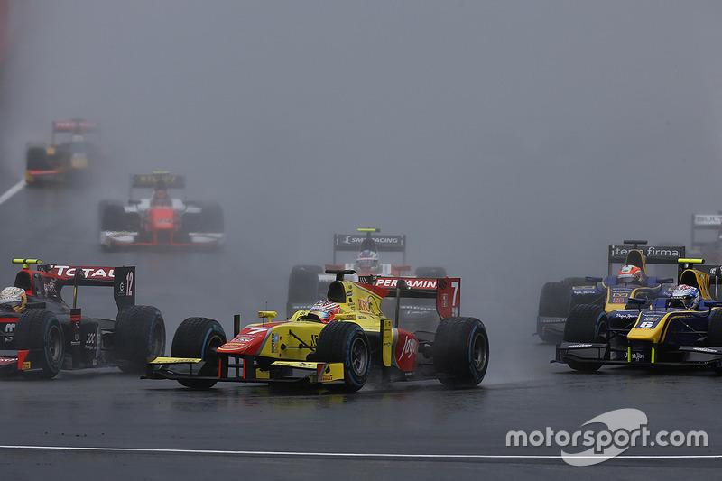 Mitch Evans, Pertamina Campos Racing at Spielberg