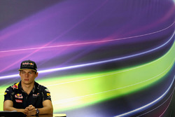 Max Verstappen, Red Bull Racing during the press conference