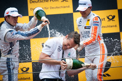 Podium: Paul Di Resta, Mercedes-AMG Team HWA, Mercedes-AMG C63 DTM and Robert Wickens, Mercedes-AMG Team HWA, Mercedes-AMG C63 DTM