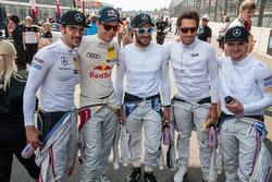 Mattias and his Mercedes Boys, Maximilian Götz, Mercedes-AMG Team HWA, Mercedes-AMG C63 DTM, Mattias Ekström, Audi Sport Team Abt Sportsline, Audi A5 DTM, Gary Paffett, Mercedes-AMG Team ART, Mercedes-AMG C63 DTM, Daniel Juncadella, Mercedes-AMG Team HWA, Mercedes-AMG C63 DTM, Lucas Auer, Mercedes-AMG Team Mücke, Mercedes-AMG C63 DTM