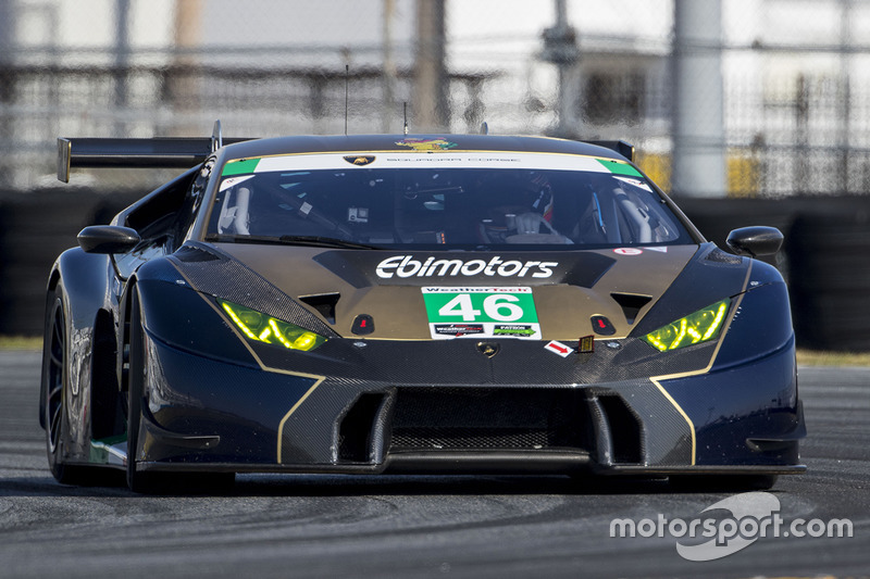 46 ebimotors lamborghini huracan gt3 emanuele busnelli fabio babini at daytona november testing. Black Bedroom Furniture Sets. Home Design Ideas