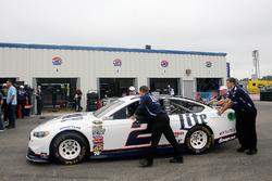 Car of Brad Keselowski, Team Penske Ford