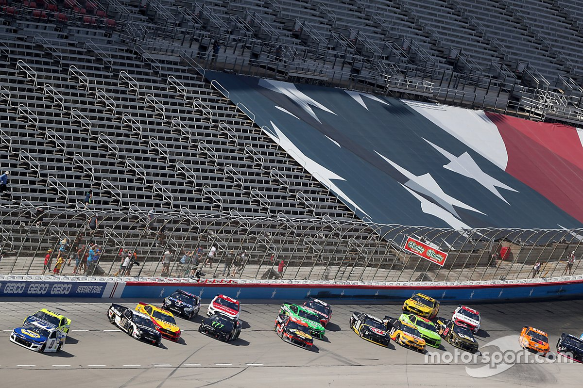 Cindric declared Texas Xfinity victor, Kyle Busch disqualified