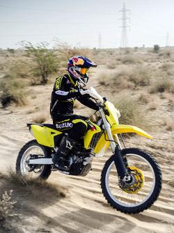CS Santosh, Suzuki RMX450Z
