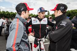 Nicolas Prost, Sébastien Buemi and Mathias Beche