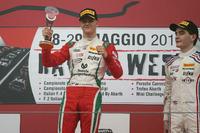 Formula 4 Photos - Race 2 podium: winner Mick Schumacher, Prema Power Team, third place Job Van Uitert, Jenzer Motorsport