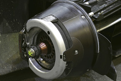 #8 Audi Sport Team Joest Audi R18 brake detail