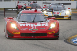 #31 Action Express Racing Corvette DP: Eric Curran, Dane Cameron, Scott Pruett