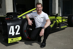 Charlie Kimball, Chip Ganassi Racing Chevrolet with a new livery and number
