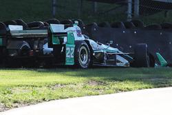 Simon Pagenaud, Team Penske Chevrolet in trouble