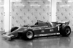 Ferrari 126C presentation