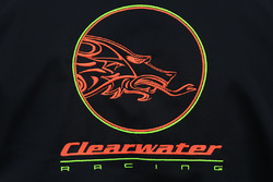 Clearwater Racing logo detail