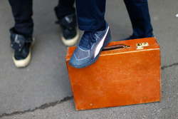 Briefcase of Adrian Newey, Red Bull Racing Chief Technical Officer