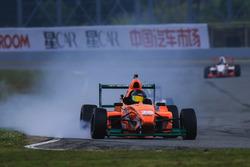 Chinese F4 Brake action