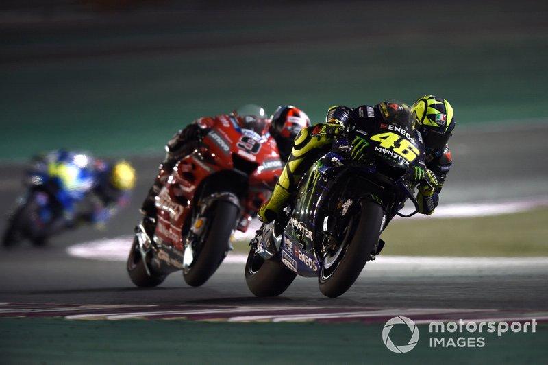 Valentino Rossi signe le meilleur tour aux essais — GP du Qatar