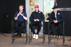 Charlie Kimball, Scott Dixon and Mike Hull