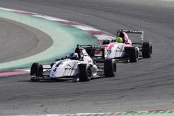 Harrison Newey leads Mick Schumacher