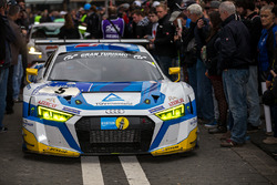 #5 Phoenix Racing, Audi R 8 LMS: Frank Stippler, Anders Fjordbach