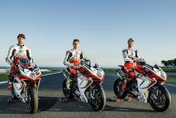 Leon Camier, Jules Cluzel and Lorenzo Zanetti, MV Agusta F4 RC