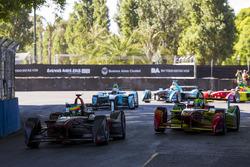 Mike Conway, Venturi and Lucas di Grassi, ABT Schaeffler Audi Sport